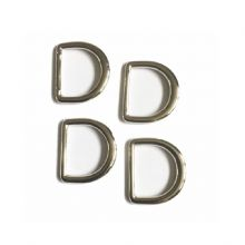 DV749-20-1 20 mm Nickel D ring